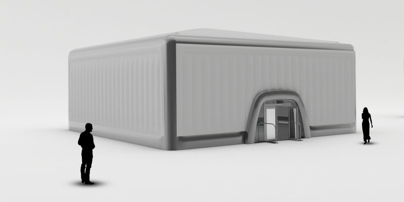 15m Cube - Inflatable Cube