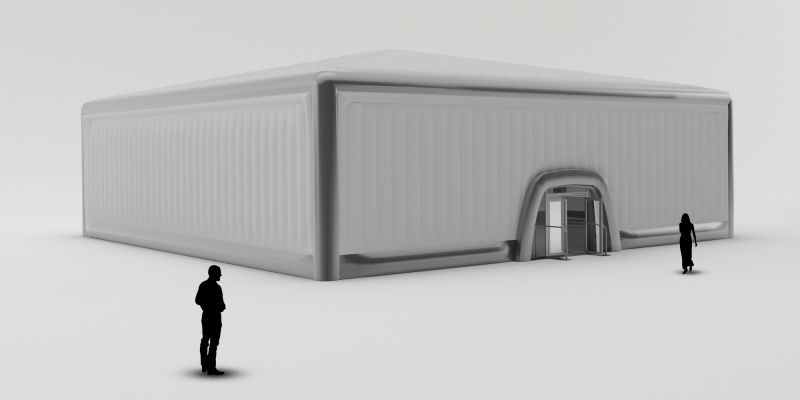 20m Cube - Inflatable Marquee