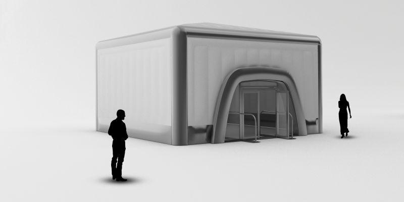 8m Cube - Exhibition Structure
